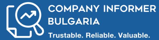 Company Informer Bulgaria - Logo
